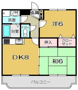 【 上福元町 】 イーグルタテヤマ 202号