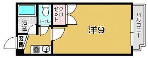 【 東谷山1丁目 】 ソーラー館 406号