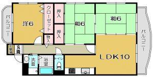 【 紫原6丁目 】 パストラル9-9 203号
