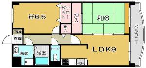 【 平之町 】プラセル藤川 403号