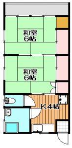 【小松原2丁目】 安田荘 101号